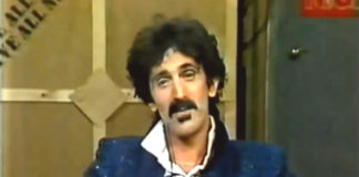Frank Zappa via youtube