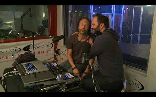 Thom Yorke at KCRW