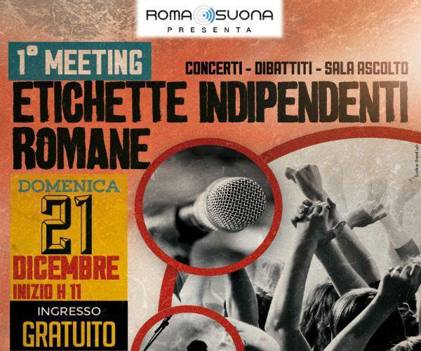 Meeting etichette indipendenti romane