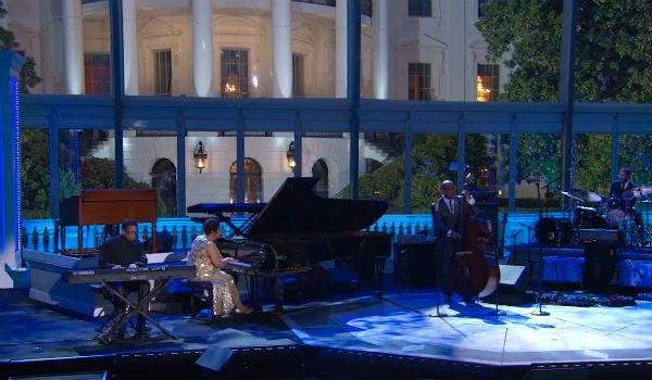 Jazz festival Obama