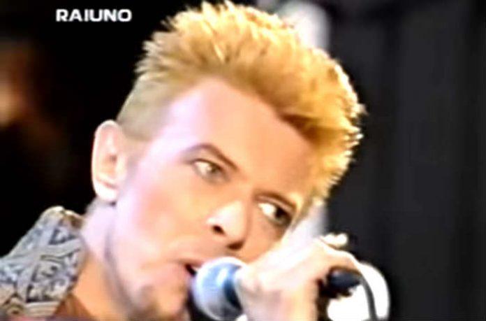 David Bowie sanremo 1997