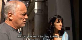 David Gilmour venezia 2006