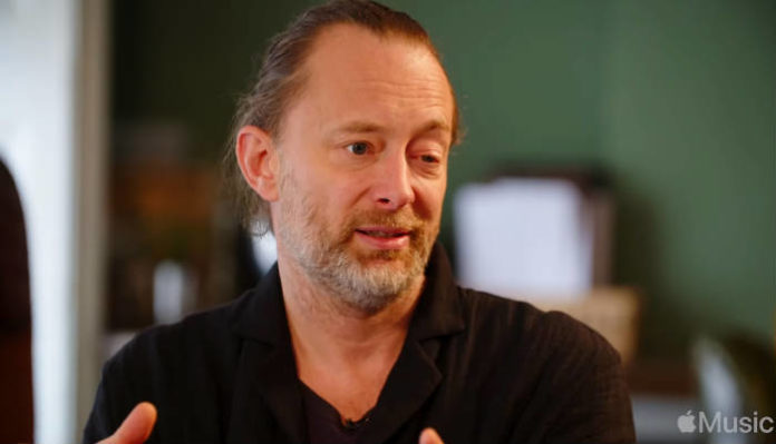 thom yorke image via Apple Music