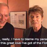 David Bowie e David Gilmour